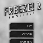 Freeze! 2 Brothers Presskit Screenshot Menue 1